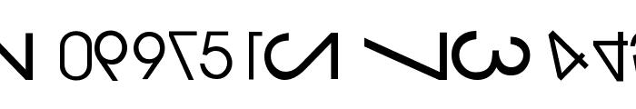 NumerO Font UPPERCASE