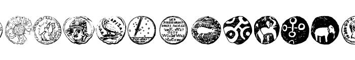 Numismatic Bats TFB Font UPPERCASE