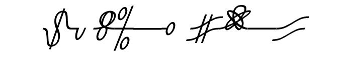 Numukki  Italic Font OTHER CHARS