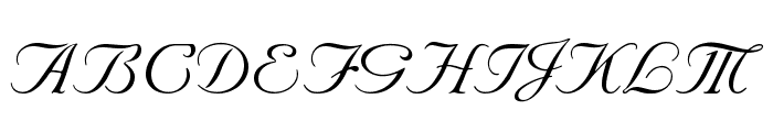 Nuncio Regular Font UPPERCASE