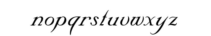 Nuncio Regular Font LOWERCASE