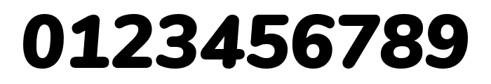 Nunito Black Italic Font OTHER CHARS