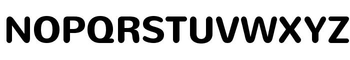 Nunito-Bold Font UPPERCASE