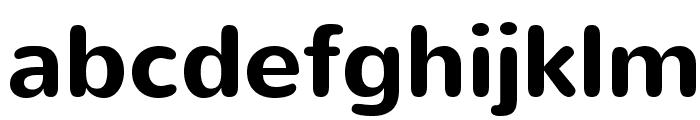 Nunito-Bold Font LOWERCASE