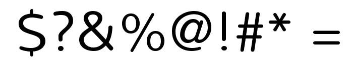 Nunito-Light Font OTHER CHARS