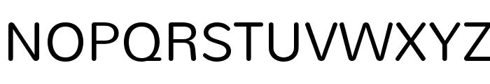 Nunito-Light Font UPPERCASE