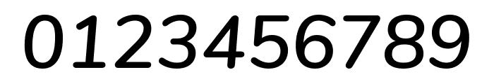 Nunito SemiBold Italic Font OTHER CHARS