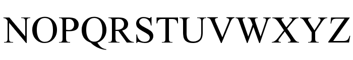 Nuosu SIL Font UPPERCASE
