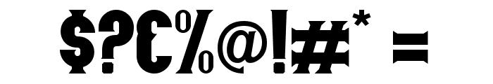 Nurjan Free Font OTHER CHARS
