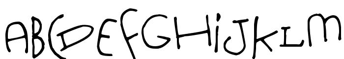 Nursery Tale Font UPPERCASE