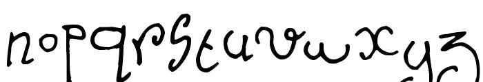 Nursery Tale Font LOWERCASE