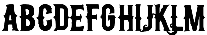nu Font LOWERCASE