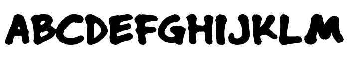 nusaliver Font UPPERCASE