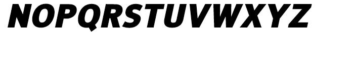 NuOrder Black Italic Font UPPERCASE