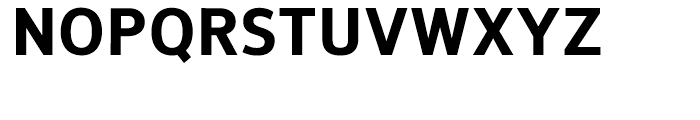 NuOrder ExtraBold Font UPPERCASE