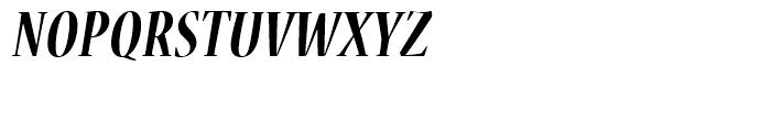 Nueva Bold Cond Italic Font UPPERCASE