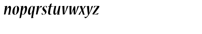 Nueva Bold Cond Italic Font LOWERCASE