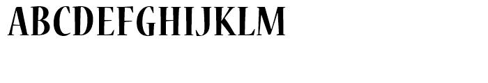 Nueva Bold Cond Font UPPERCASE