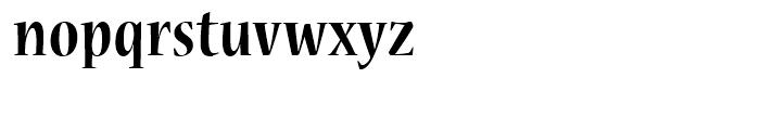 Nueva Bold Cond Font LOWERCASE