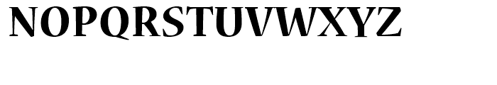 Nueva Bold Font UPPERCASE