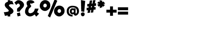 Nuevo Litho Black Font OTHER CHARS