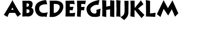 Nuevo Litho Black Font UPPERCASE