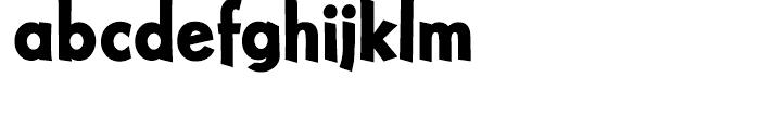 Nuevo Litho Black Font LOWERCASE