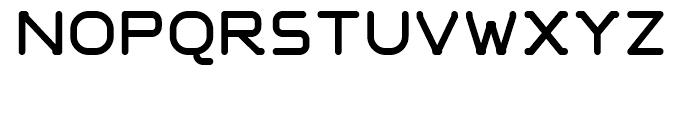 Nunooska Regular Font UPPERCASE