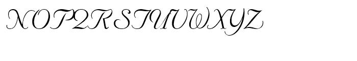 Nuptial Regular Font UPPERCASE