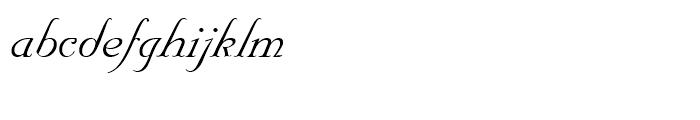 Nuptial Regular Font LOWERCASE