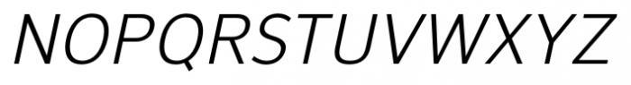 NuOrder Italic Font UPPERCASE