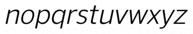 NuOrder Italic Font LOWERCASE