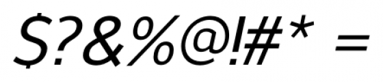 NuOrder Medium Italic Font OTHER CHARS