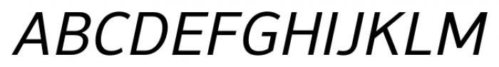 NuOrder Medium Italic Font UPPERCASE