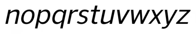 NuOrder Medium Italic Font LOWERCASE