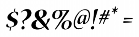 Nueva� Std Bold Italic Font OTHER CHARS