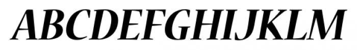 Nueva� Std Bold Italic Font UPPERCASE