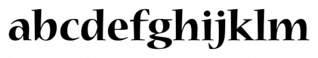 Nueva� Std Bold Font LOWERCASE