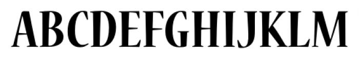 Nueva� Std Condensed Bold Font UPPERCASE