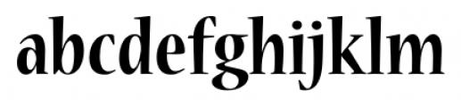 Nueva� Std Condensed Bold Font LOWERCASE