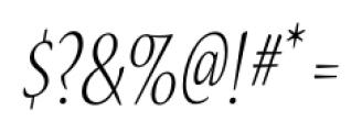 Nueva� Std Condensed Light Italic Font OTHER CHARS