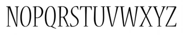 Nueva� Std Condensed Light Font UPPERCASE