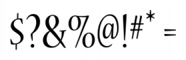 Nueva� Std Condensed Regular Font OTHER CHARS
