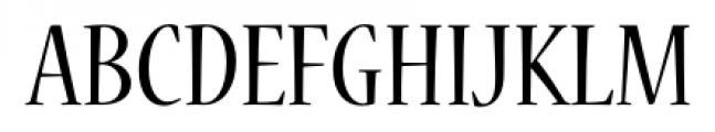 Nueva� Std Condensed Regular Font UPPERCASE