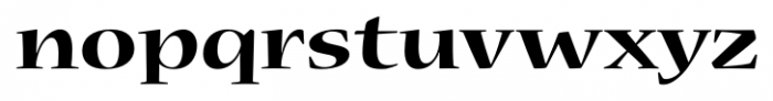 Nueva� Std Extended Bold Font LOWERCASE