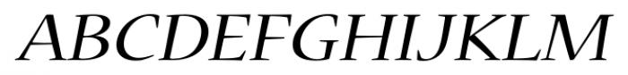Nueva� Std Extended Italic Font UPPERCASE