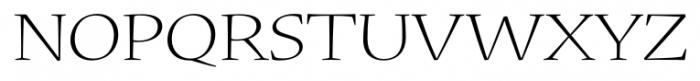 Nueva� Std Extended Light Font UPPERCASE