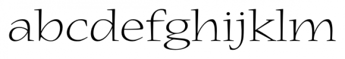 Nueva� Std Extended Light Font LOWERCASE