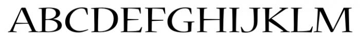 Nueva� Std Extended Regular Font UPPERCASE