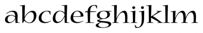 Nueva� Std Extended Regular Font LOWERCASE